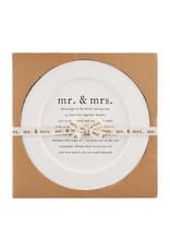 MUD PIE 40700375 WEDDING BLESSING PLATTER