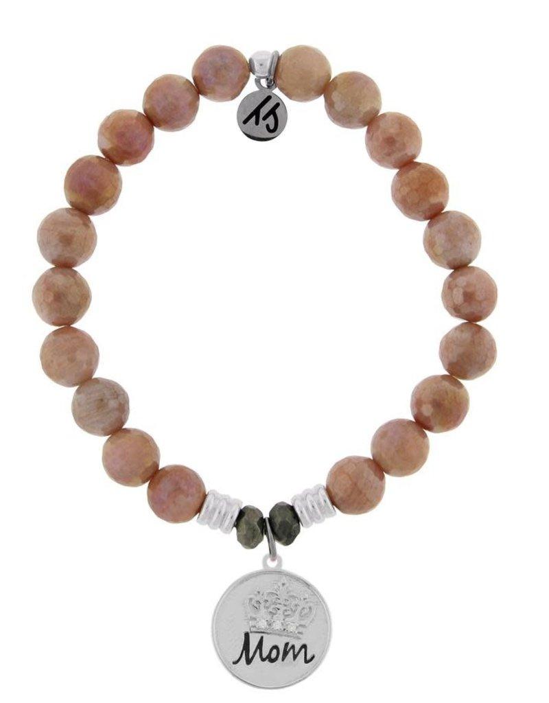 T JAZELLE TJ57173 ORANGE MOONSTONE-MOM CROWN