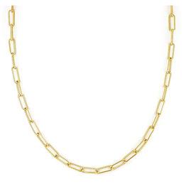 "JOHN MEDEIROS N5332-G003 Diamanté Necklace Link 16-18"" Gold"