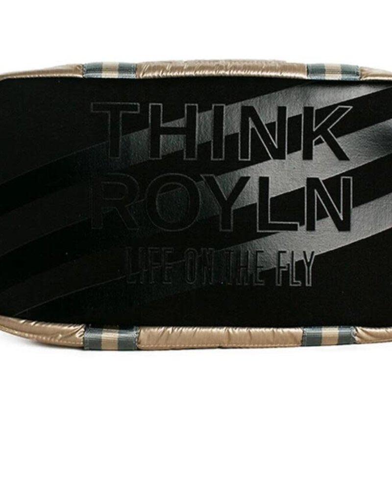 THINK ROYLN JR WINGMAN BAG-PEARL GOLD