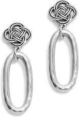 BRIGHTON JA4930 Interlok Petite Knot Post Drop Earrings