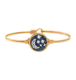 LUCA AND DANNI WWB193 Starry Night Bangle Bracelet Brass Tone Regular