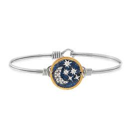 LUCA AND DANNI WWB193S Starry Night Bangle Bracelet Silver Tone Regular