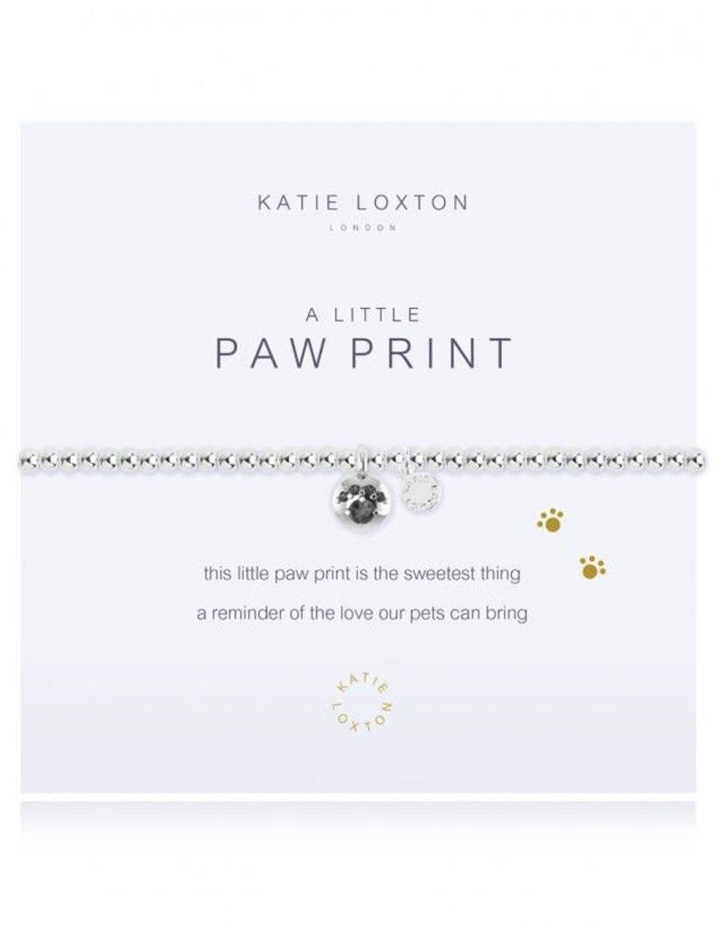 KATIE LOXTON KLJ1094 A LITTLE PAW PRINT BRACELET