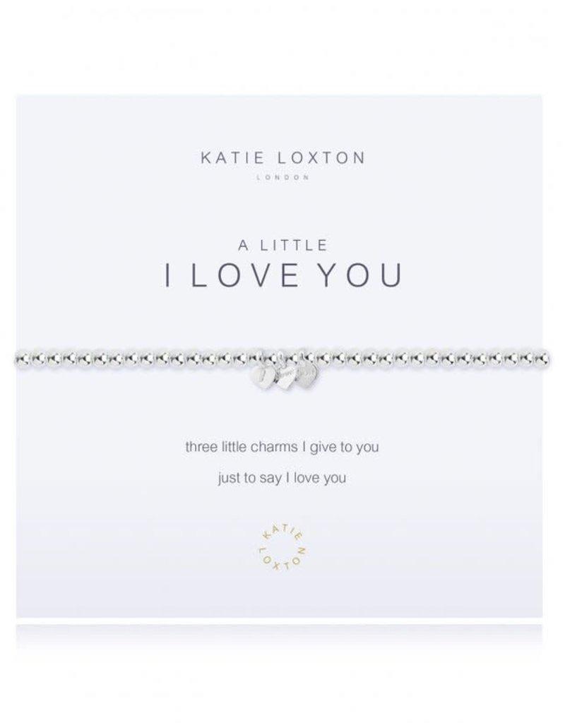 KATIE LOXTON KLJ1312 A LITTLE I LOVE YOU BRACELET