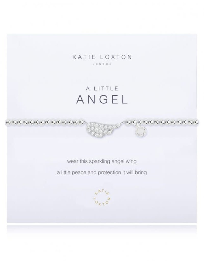 KATIE LOXTON KLJ1819 A LITTLE ANGEL BRACELET