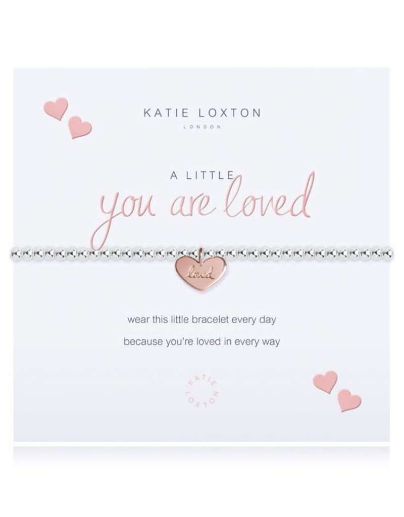 KATIE LOXTON KLJ2920 A LITTLE YOU ARE LOVED BRACELET