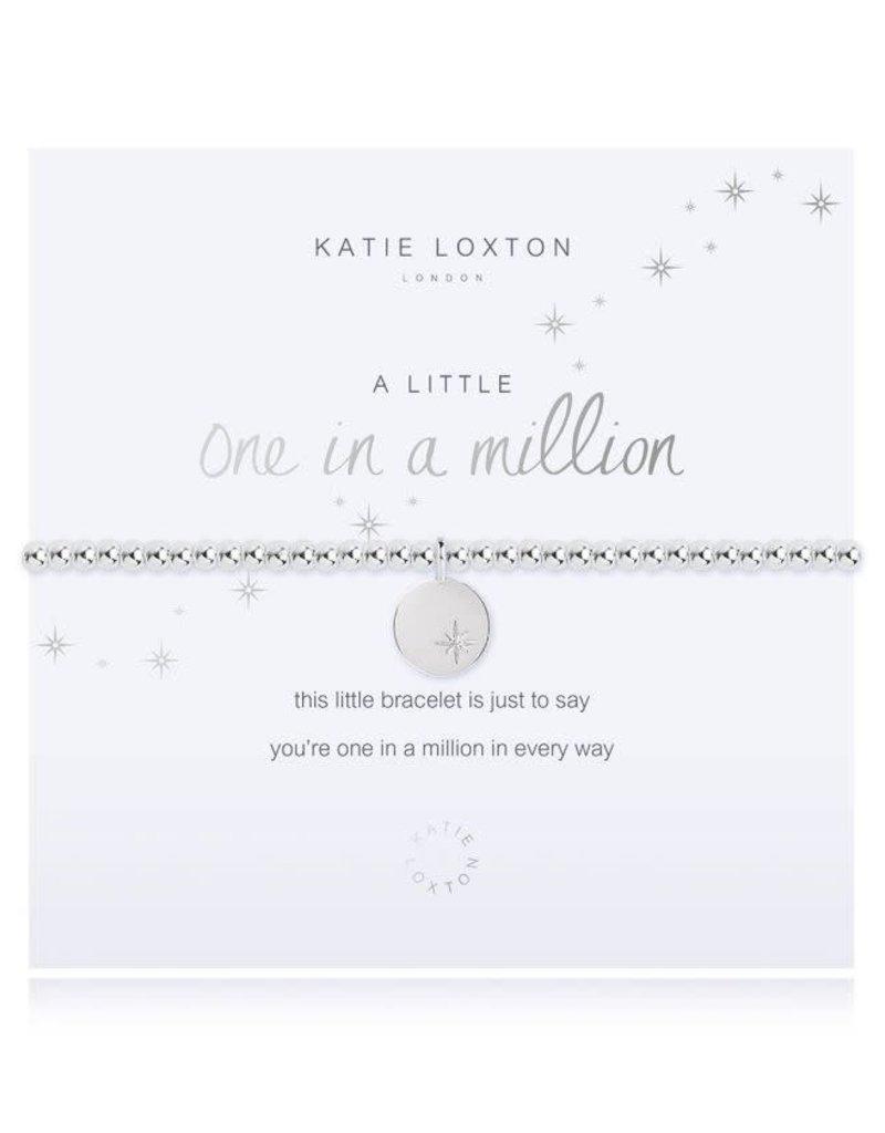 KATIE LOXTON KLJ3208 A LITTLE ONE IN A MILLION BRACELET