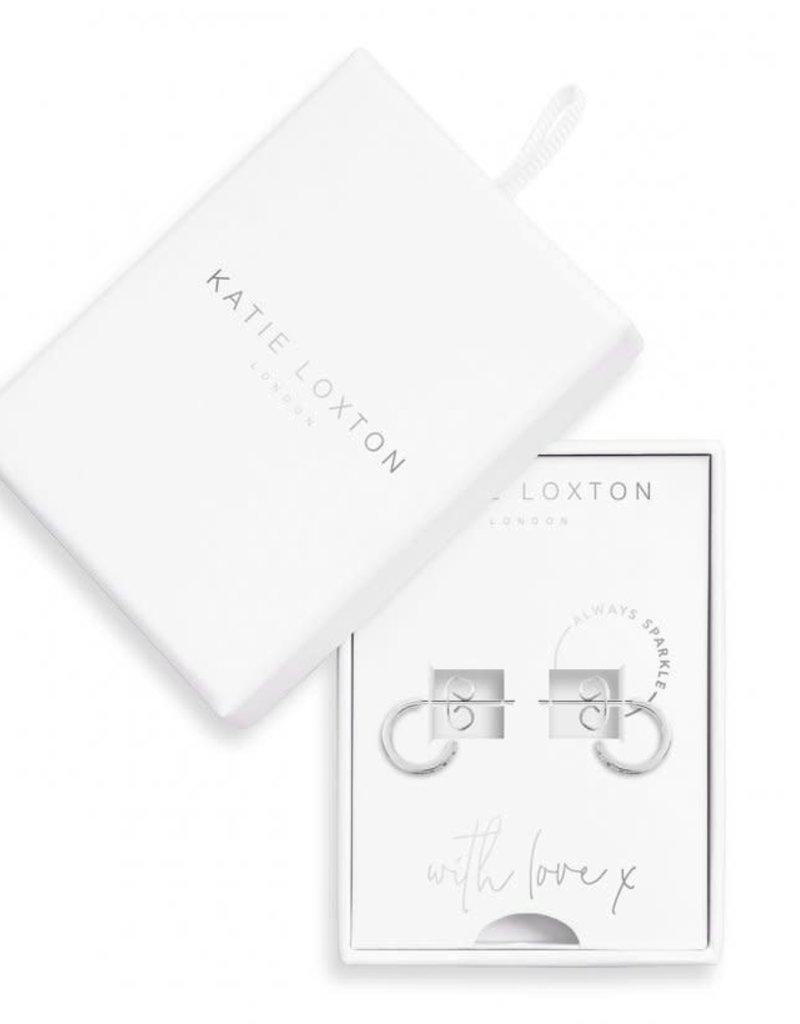 KATIE LOXTON KLJ3501 TREASURE THE LITTLE THINGS EARRING BOX  ALWAYS SPARKLE