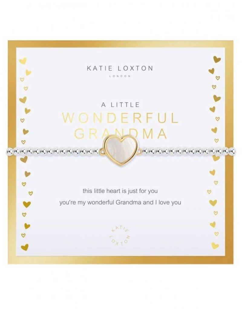 KATIE LOXTON KLJ3772 BEAUTIFULLY BOXED A LITTLES   WONDERFUL GRANDMA