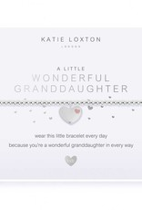 KATIE LOXTON KLJC497 CHILDREN'S A LITTLE WONDERFUL GRANDD HTER BRACELET