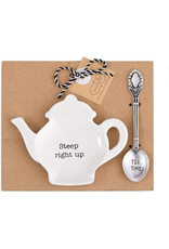 MUD PIE 42600444S STEEP RIGHT TEA BAG SET