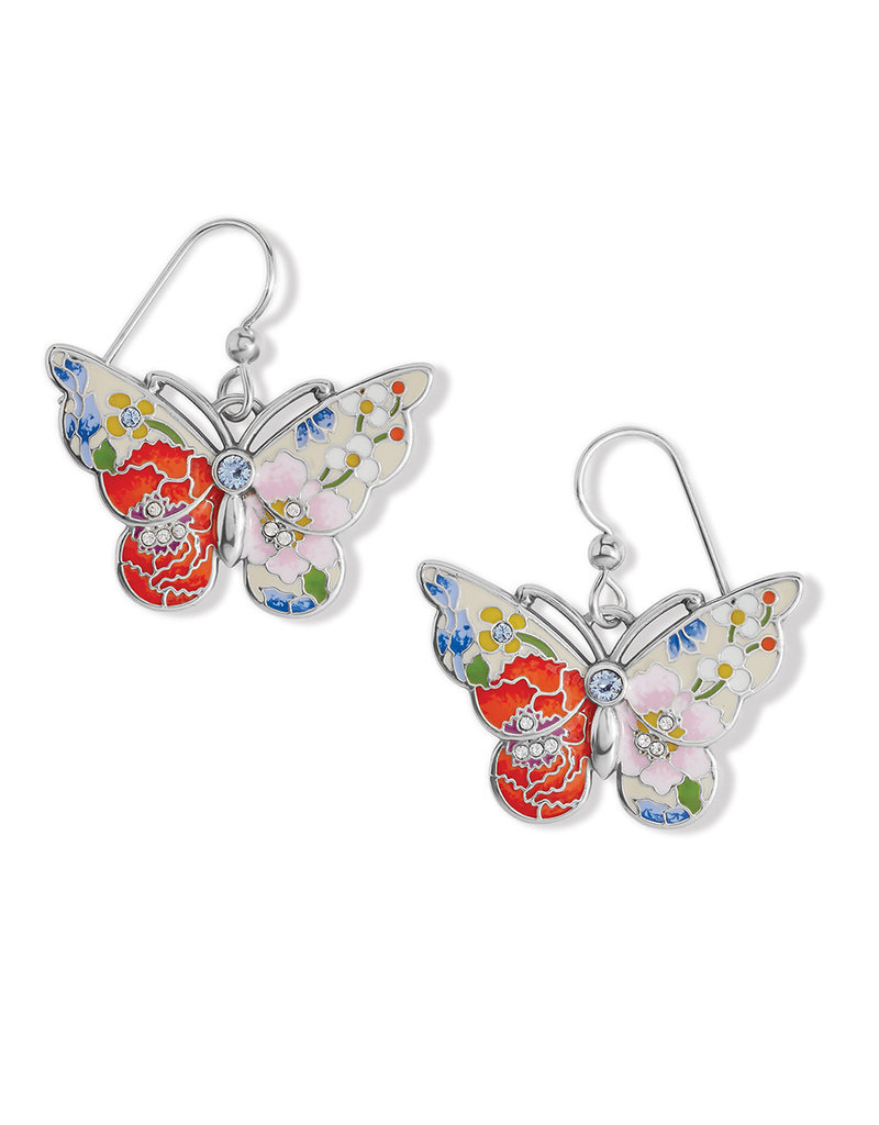 BRIGHTON JA7743 Blossom Hill Butterfly French Wire Earrings