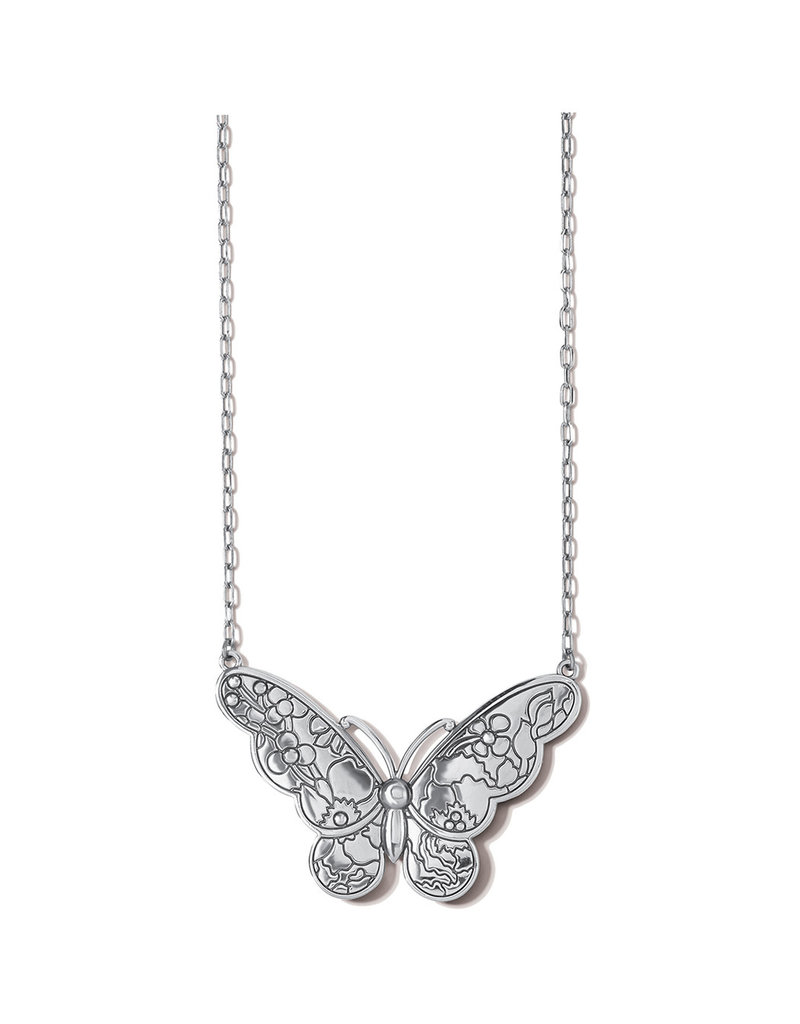 BRIGHTON JM4703 BLOSSOM HILL BUTTERFLY NECKLACE