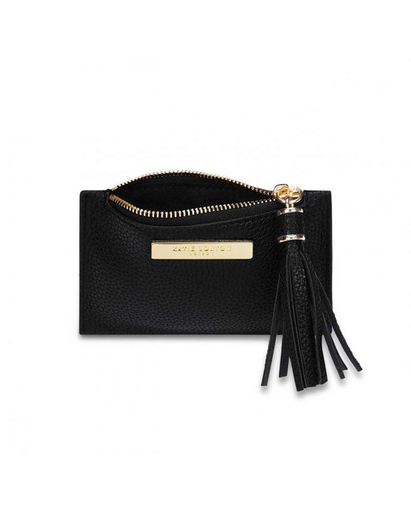 KATIE LOXTON KLB1023 Tassel Card Holder   Black