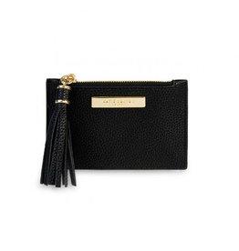 KATIE LOXTON KLB1023 Tassel Card Holder | Black