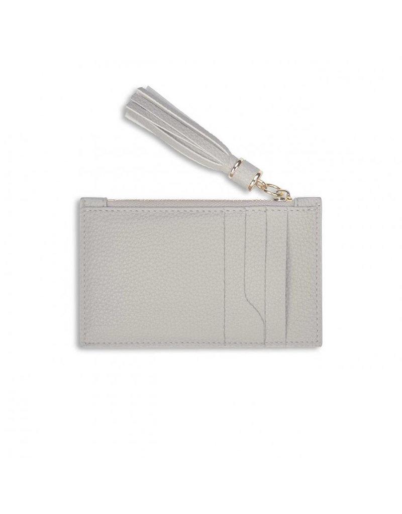 KATIE LOXTON KLB1024 Tassel Card Holder   Stone