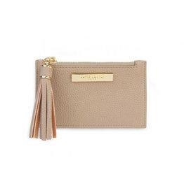 KATIE LOXTON KLB1025 Tassel Card Holder | Taupe