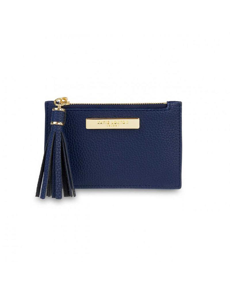 KATIE LOXTON KLB1026 Tassel Card Holder | Navy