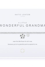 KATIE LOXTON KLJ1665 a little Wonderful Grandma Bracelet