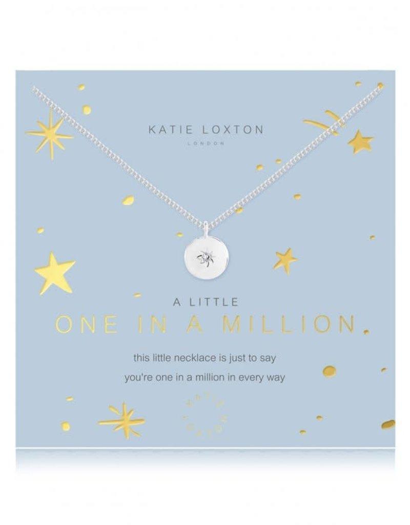 KATIE LOXTON KLJ4371 a little One In A Million Necklace