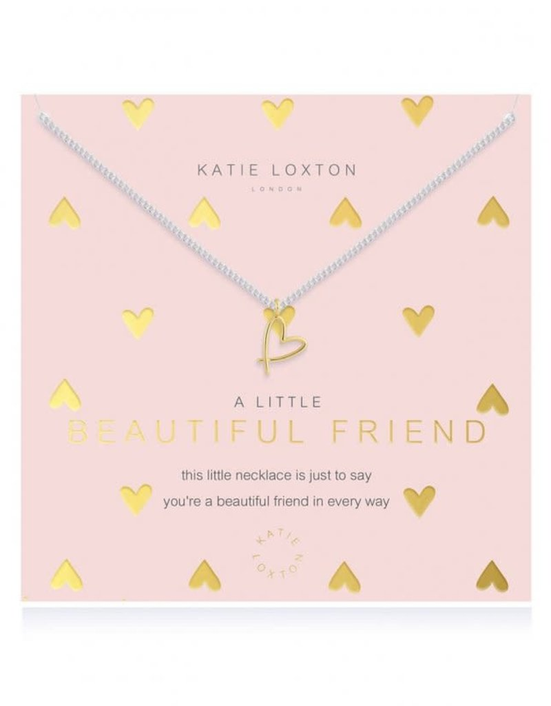 KATIE LOXTON KLJ4391 a little Beautiful Friend Necklace