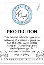 T JAZELLE BLUE AQUAMARINE - PROTECTION