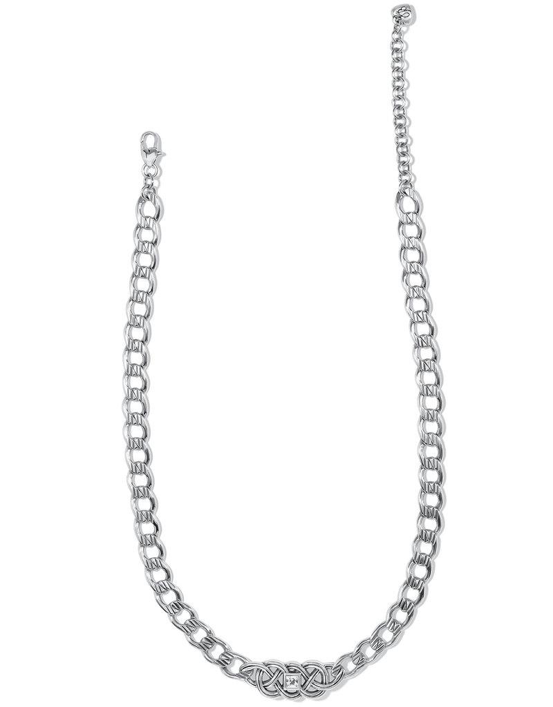 BRIGHTON JM4531 Interlok Lustre Collar Necklace