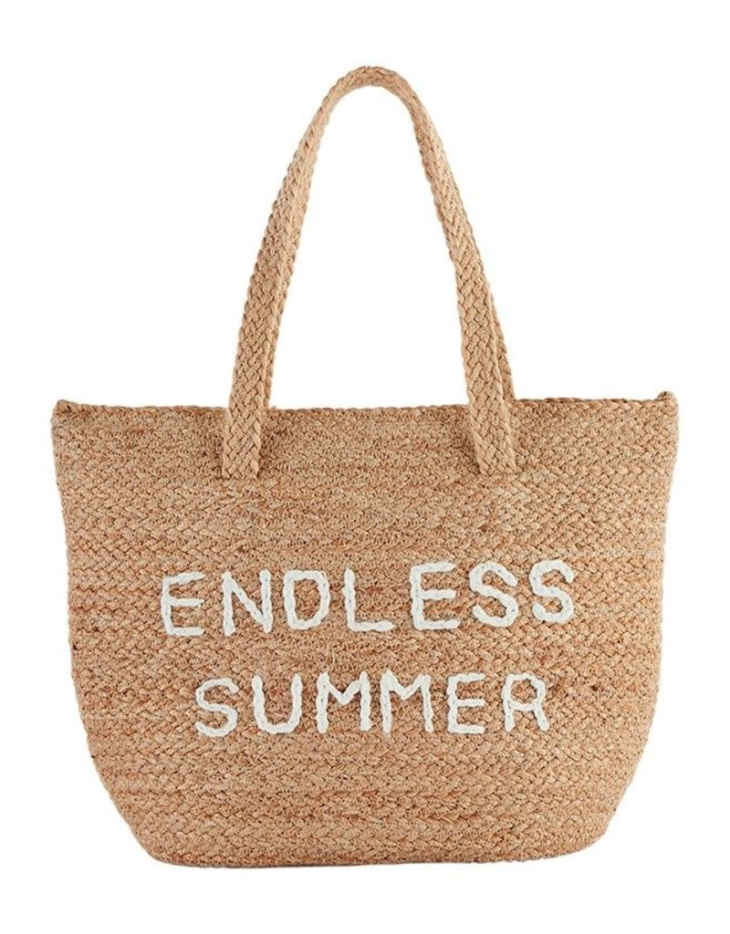 MUD PIE 43600012E ENDLESS SUMMER COOLER TOTE