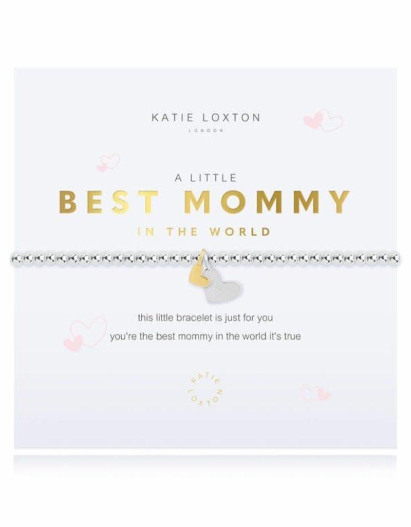 KATIE LOXTON KLJ4309 a little Best Mommy In The World Bracelet