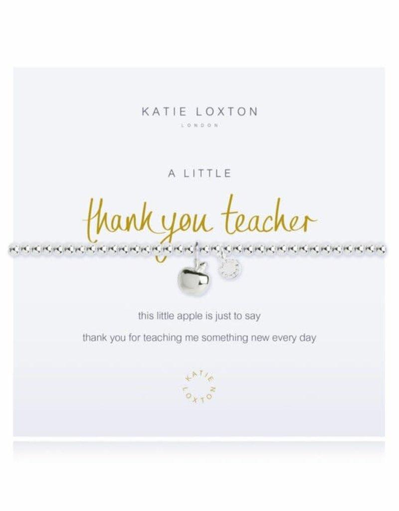 KATIE LOXTON KLJ2212 a little THANK YOU TEACHER - bracelet