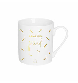KATIE LOXTON KLCW008 Porcelain Mug | Amazing Friend