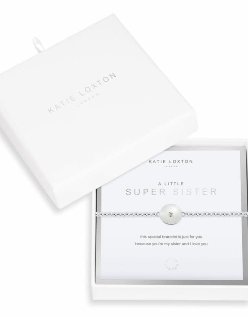 KATIE LOXTON KLJ3542 Beautifully Boxed a little Super Sister Bracelet