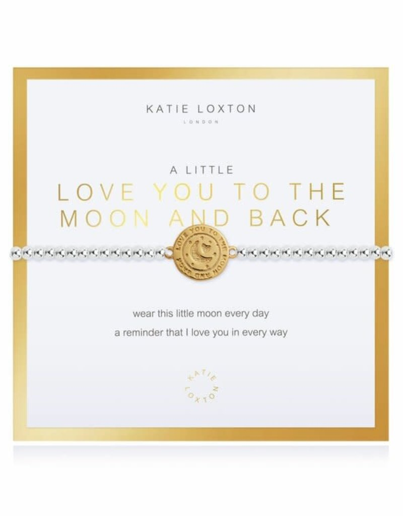 KATIE LOXTON KLJ3544 Beautifully Boxed a little Love You To The Moon And Back Bracelet