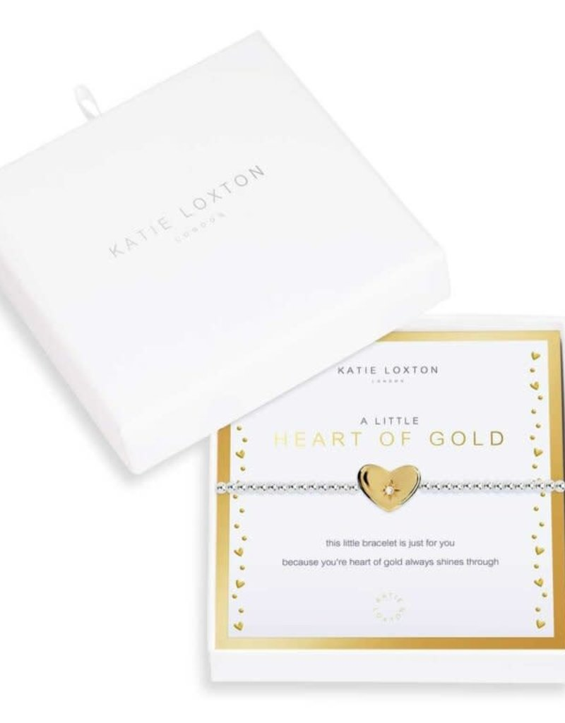 KATIE LOXTON KLJ3770 Beautifully Boxed A Littles | Heart Of Gold