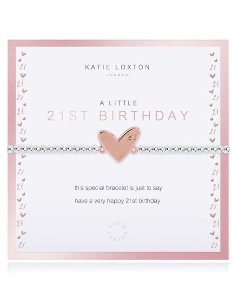 KATIE LOXTON KLJ3775 Beautifully Boxed A Littles | 21st Birthday