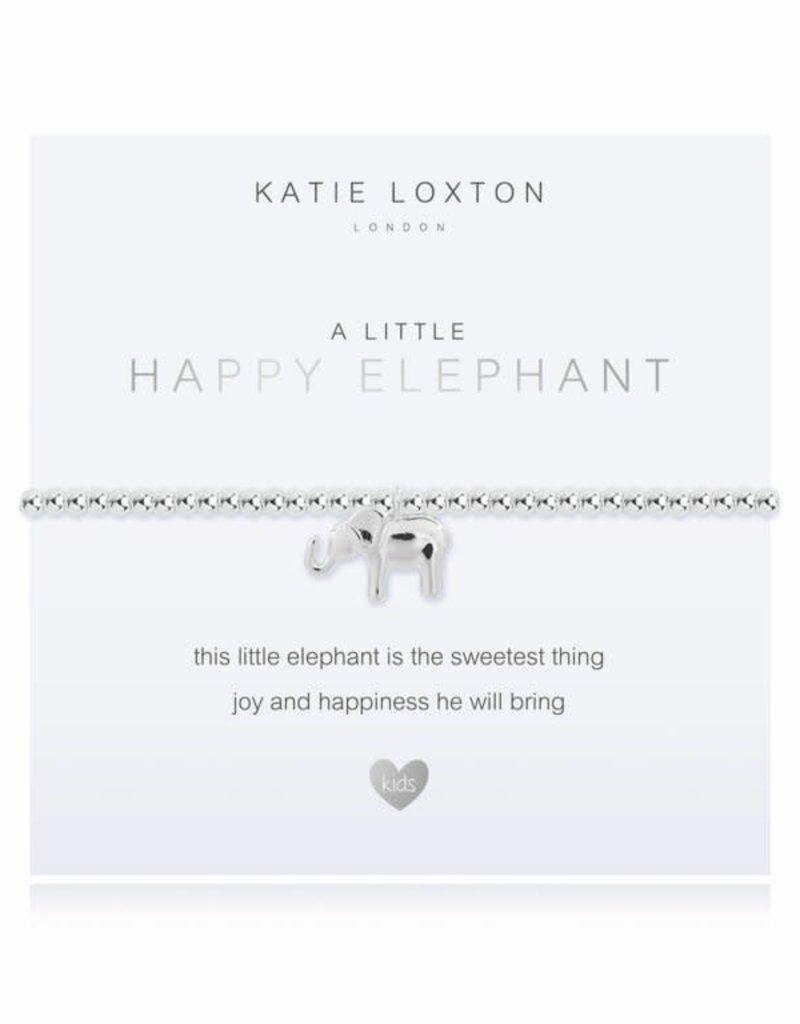 KATIE LOXTON KLJC486 a little Happy Elephant Bracelet