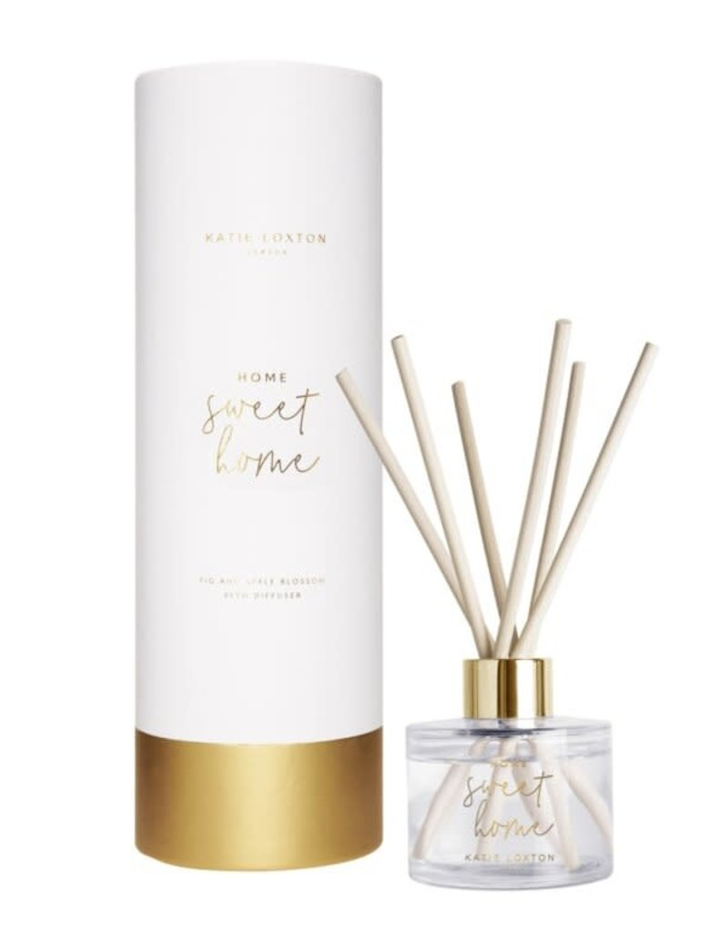 KATIE LOXTON KLRD063 Home Sweet Home Reed Diffuser   Fig And Apple Blossom