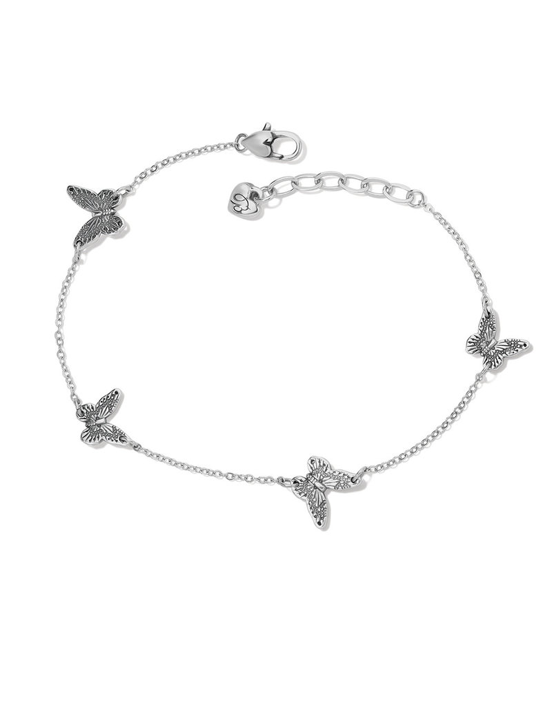 BRIGHTON J71770 SOLSTICE BUTTERFLY ANKLET