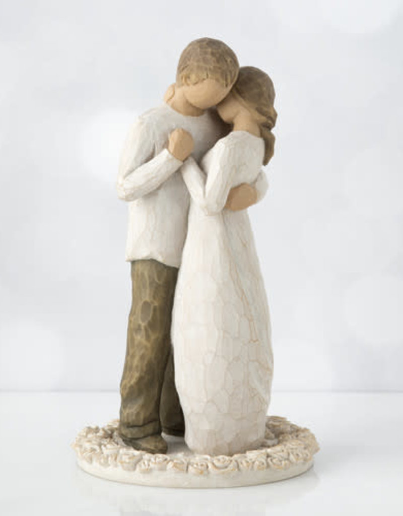 WILLOW TREE 26189 PROMISE CAKE TOPPER