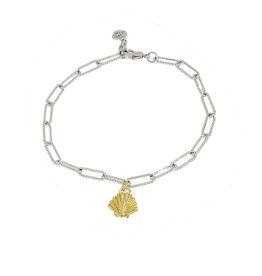 JOHN MEDEIROS B5411-R00P Diamanté Shell Rhodium