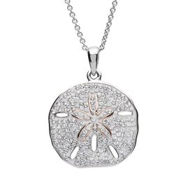 SHANORE Sand Dollar Necklace With Swarovski® Crystals