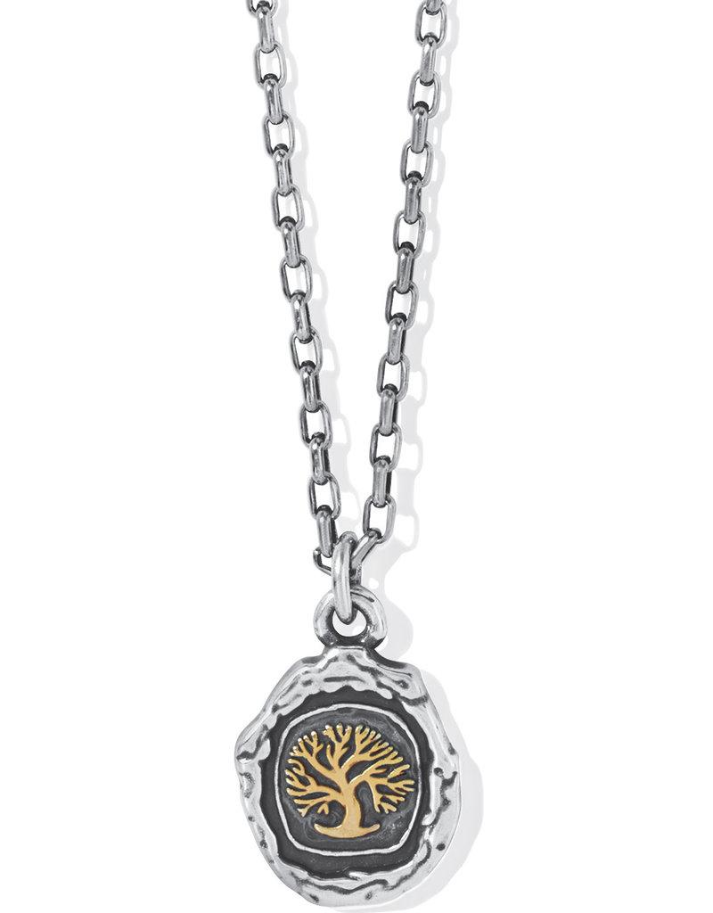 BRIGHTON JM5042 Ferrara Virtue Oak Tree Pendant Necklace