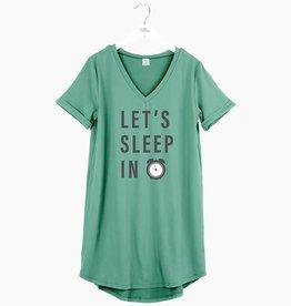 HELLO MELLO Let's Sleep In Sleep Shirt