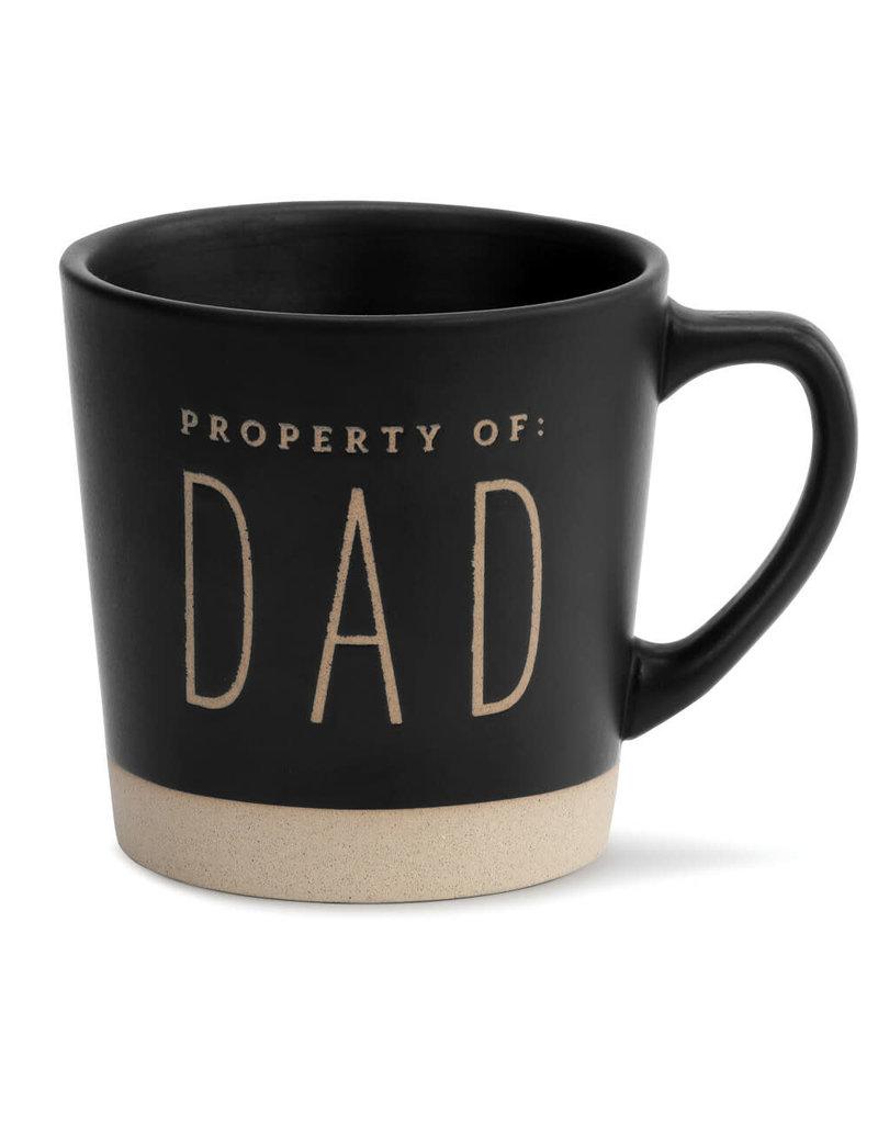 DEMDACO 1004620008 Property of Dad Mug