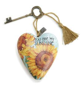 DEMDACO 1003480051 YOU ARE MY SUNSHINE ART HEART