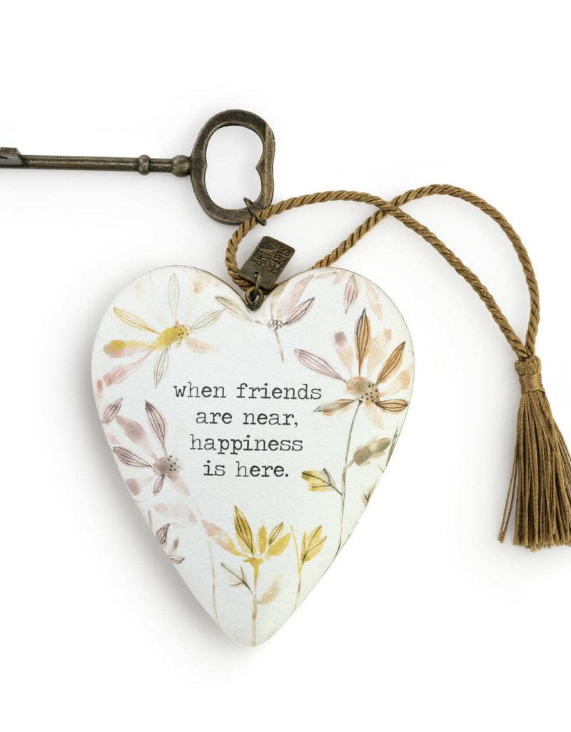 DEMDACO 1003480363 Friends & Happiness Art Heart