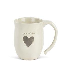 DEMDACO 1004470021 Grateful Heart Mug
