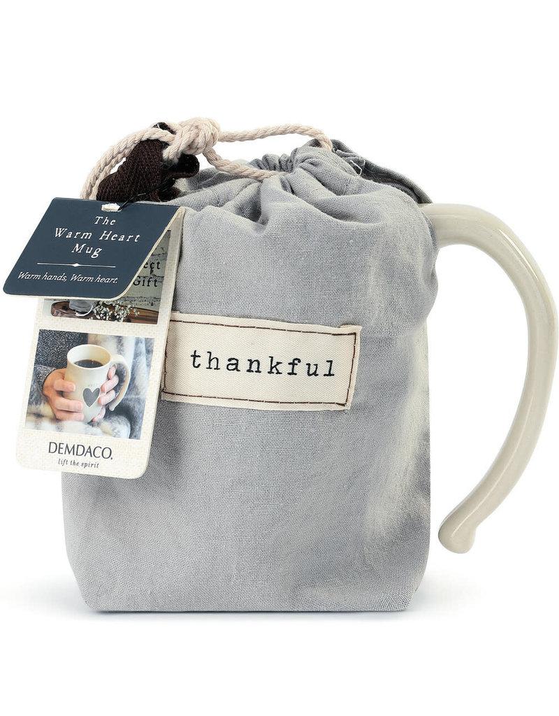 DEMDACO 1004470028 Thankful Heart Mug