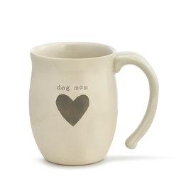 DEMDACO 1004470043Dog Mom Heart Mug